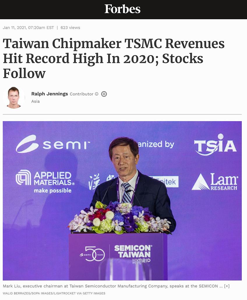 Forbes - TSMC - 11/01/2021