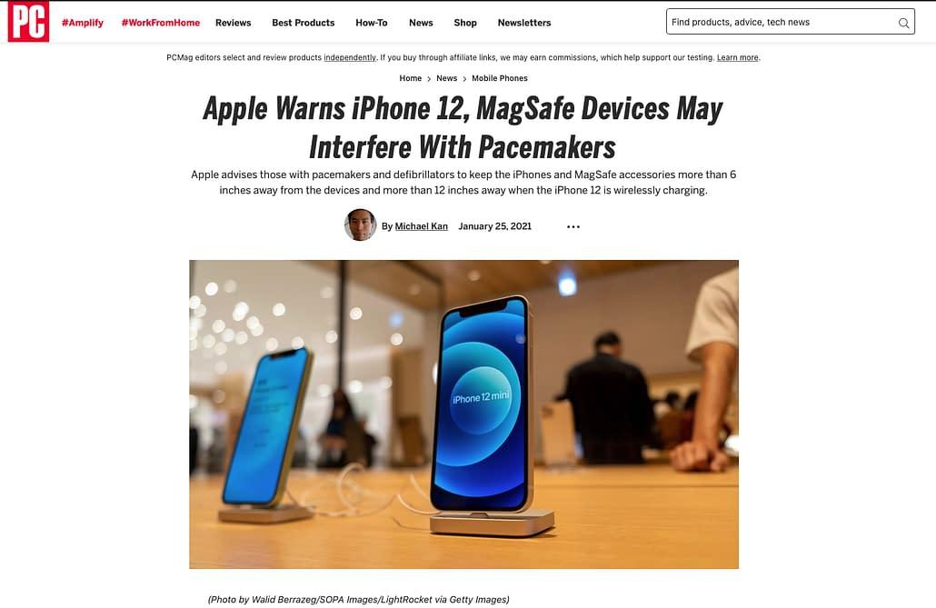 PC Mag - iPhone - 26012021