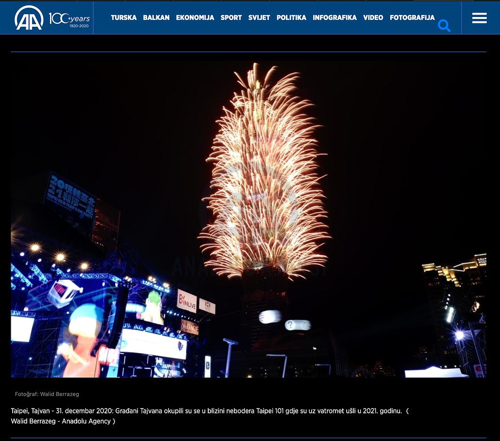 Anadolu Agency - New Year's Eve 2021 - 01012021